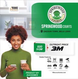 Mixed   Use Land for sale Springwood Courts Ikegun Ibeju-Lekki Lagos