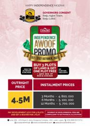 Mixed   Use Land for sale Garfield Terrace Eleko Ibeju-Lekki Lagos