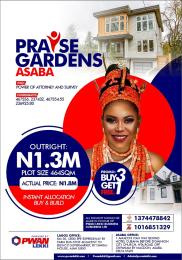 Mixed   Use Land Land for sale PRAISE GARDENS ACHALLA-IBUSA Oshimili North Delta