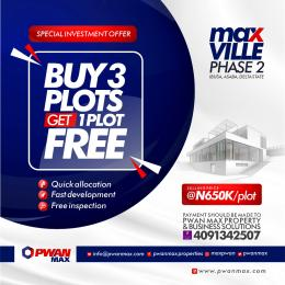 Mixed   Use Land Land for sale  located just 20 mins drive from the popular *Asaba airport*  Asaba Delta