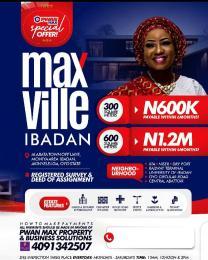 Mixed   Use Land Land for sale Alabata Town off Ijaye, Moniya Area, Akinyele LGA, Ibadan, Oyo State. Moniya Ibadan Oyo