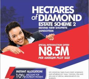Residential Land Land for sale Estate land Off Monastery Road behind Shoprite  Sangotedo Ajah Lagos