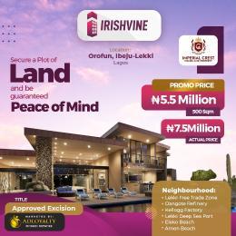 Residential Land for sale Irishvine, Orofun, Ibeju-Lekki Lagos
