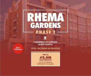 Residential Land Land for sale NO. 6 CMD/Jubilee Road, Beside Love Home orphanage  Magodo Kosofe/Ikosi Lagos