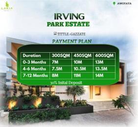 Land for sale Oribanwa Bustop Awoyaya Ajah Lagos