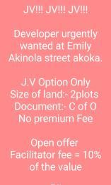 Joint   Venture Land Land for sale Emily Akinola Akoka Yaba Lagos