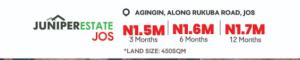 Residential Land Land for sale Agingin along rukuba road Jos South Plateau