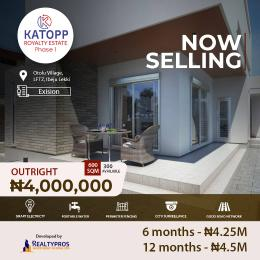Commercial Land for sale Katopp Royalty Estate Phase 1 Otolu By Lekki Free Trade Zone, Ibeju Lekki Lagos. Free Trade Zone Ibeju-Lekki Lagos