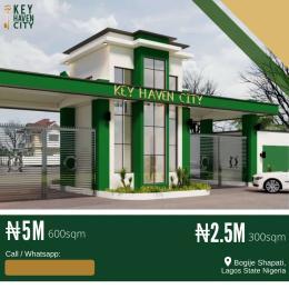Residential Land for sale Shapati Bogije Sangotedo Lagos