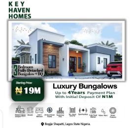 3 bedroom Detached Bungalow House for sale Shapati Bogije Sangotedo Lagos