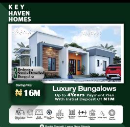 3 bedroom Semi Detached Bungalow House for sale Shapati Bogije Sangotedo Lagos
