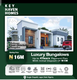 3 bedroom Semi Detached Bungalow for sale Key Haven Home, Shapati Bogije Sangotedo Lagos