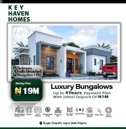 3 bedroom Detached Bungalow for sale Shapati Bogije Sangotedo Lagos