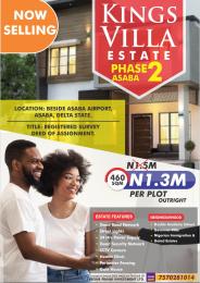 Residential Land Land for sale Koka Asaba Delta