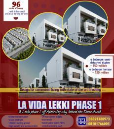 4 bedroom Semi Detached Duplex House for sale Off freedom way Lekki Phase 1 Lekki Lagos