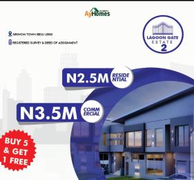 Residential Land for sale Siriwon Town Ibeju Ibeju-Lekki Lagos