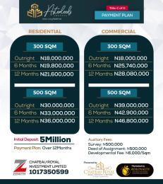 Mixed   Use Land for sale Asteroids Estate Lekki Epe Express Awoyaya Ajah Lagos