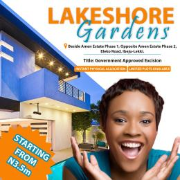 Residential Land Land for sale Lakeshore Gardens, Opposite Amen Estate, Lekki Phase 2 Lekki Lagos