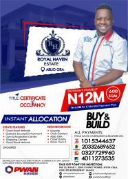 Land for sale Abijo G.R.A.  Lekki Lagos