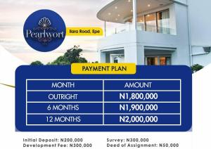 Residential Land for sale Pearlwort, Ilara Road Epe Road Epe Lagos