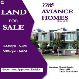 Residential Land Land for sale Bogije Shapati, Ibeju LBS Ibeju-Lekki Lagos