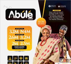 Residential Land for sale Abule (lagoon Front Estate), Abegede Badore Road. Ibeju-Lekki Lagos
