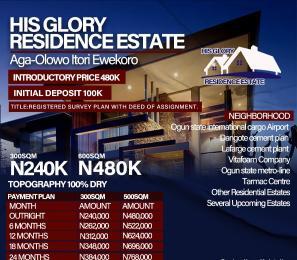 Residential Land Land for sale His Glory Estate Residence Ewekoro Ogun