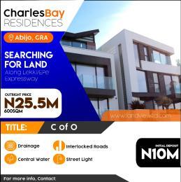 Land for sale Eko Akete Estate Off Lekki-Epe Expressway Ajah Lagos