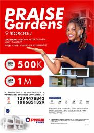 Land for sale Agbowa, after the new Mile 12 Market,  Ikorodu Lagos