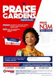 Land for sale Goodluck Jonathan Express, Idembia Ishieke Abakaliki Ebonyi
