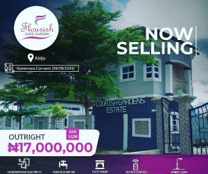 Mixed   Use Land Land for sale FLOURISH GATE GARDEN  Abijo Ajah Lagos