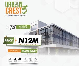 Commercial Land Land for sale Urban Crest 3 Beside Lekki Free Trade Zone  Lekki Lagos