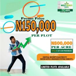Land for sale Remo North Ogun