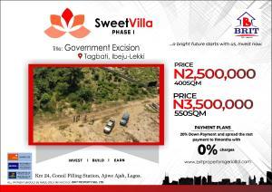 Residential Land Land for sale Tagbati ibeju lekki  Eleranigbe Ibeju-Lekki Lagos