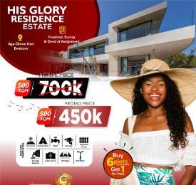 Residential Land for sale His Glory Residence Estate, Aga Olowo. Ewekoro Ogun
