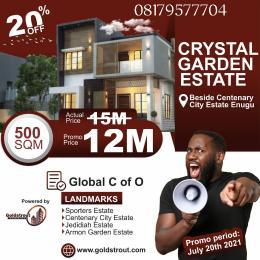 Residential Land Land for sale Crystal garden estate Enugu Enugu