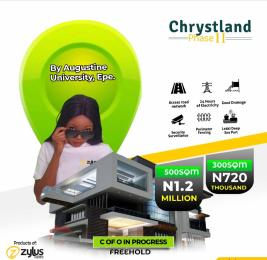 Land for sale Christland Estate By Augustine University Epe Lagos