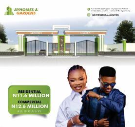 Land for sale Before Eleko Junction  Ikotun/Igando Lagos