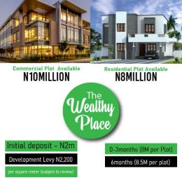 Mixed   Use Land for sale The Wealthy Place. Directly Facing The Express Before Dangote Refinery. Eleko Ibeju-Lekki Lagos