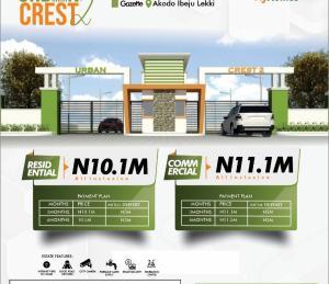 Mixed   Use Land Land for sale Urban Crest 2, Less Than 2Mins Drive To Lekki Free Trade Zone. Free Trade Zone Ibeju-Lekki Lagos