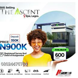 Residential Land Land for sale Talara-oke igbonla Epe Road Epe Lagos