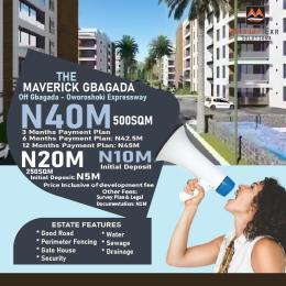 Residential Land Land for sale The Maverick Estate. Gbagada Lagos