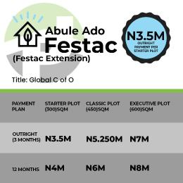 Residential Land Land for sale Omonile Pure Water, Festac extension... with 50% deposit , you qualify for a trip to dubia in Nov Alaba Ojo Lagos