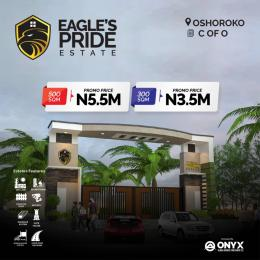 Residential Land Land for sale Eagle's Pride Estate, Oshoroko. Less Than 3Mins Drive From Dangote Refinery Free Trade Zone Ibeju-Lekki Lagos