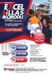 Residential Land Land for sale Jaloke community  Ikorodu Ikorodu Lagos