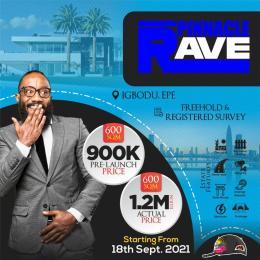 Residential Land Land for sale Pinnacle Rave, Igbodu Epe Lagos