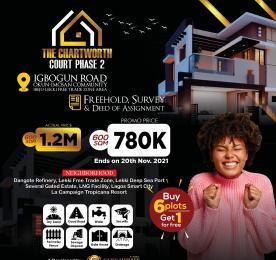 Residential Land Land for sale Chartworth Court Phase2, Okun Imosan. Ibeju-Lekki Lagos