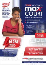 Mixed   Use Land Land for sale Behind Blenco Super Market Canaan Estate Ajah Lagos