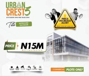 Commercial Land for sale Urban Crest 3 Beside Lekki Free Trade Zone Free Trade Zone Ibeju-Lekki Lagos