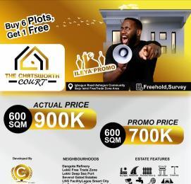 Residential Land Land for sale Chartsworth Court, Asegun Town. Ibeju-Lekki Lagos
